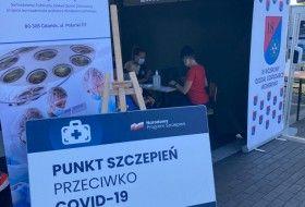 Szczepimy Się :) Piknik z okazji Święta Wojska Polskiego w Kościerzynie 15.08.2021 r.